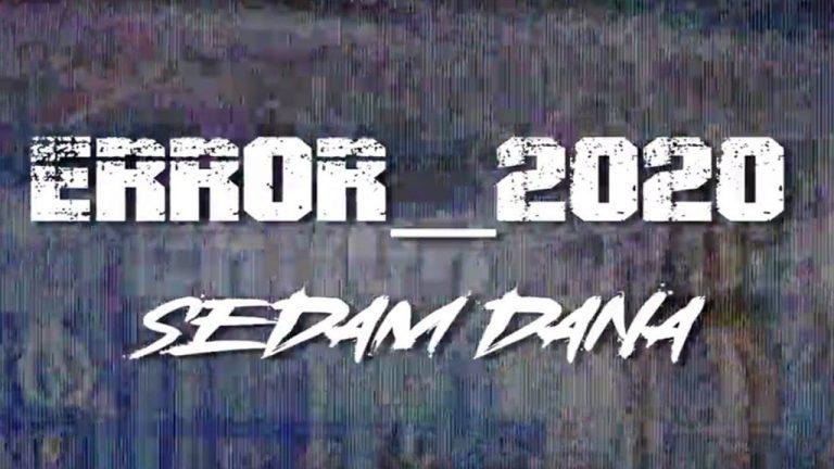 """Corona-projekat Error_2020 objavio svoj prvi video singl """"Sedam dana"""""""