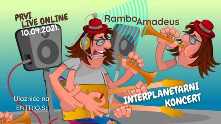 Rambo Amadeus – Interplanetarni Koncert – Subota, 10.04.2021 u 20h