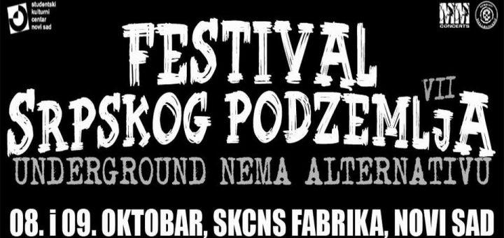 Predaja nije opcija: Festival srpskog podzemlja 8. i 9. oktobra u Novom Sadu!