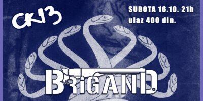 BRIGAND posle dve godine ponovo u Novom Sadu!